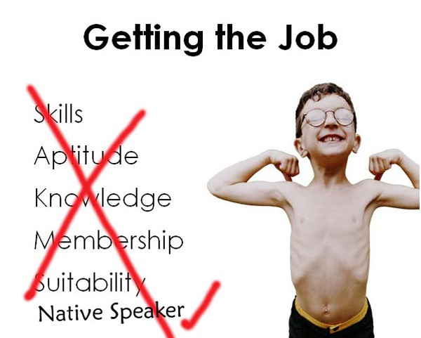 Belajar bahasa Inggris dari native speaker