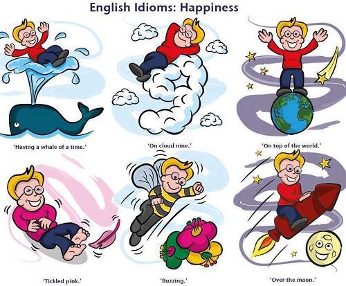 Aneka variasi Idiom menggunakan Bahasa Inggris
